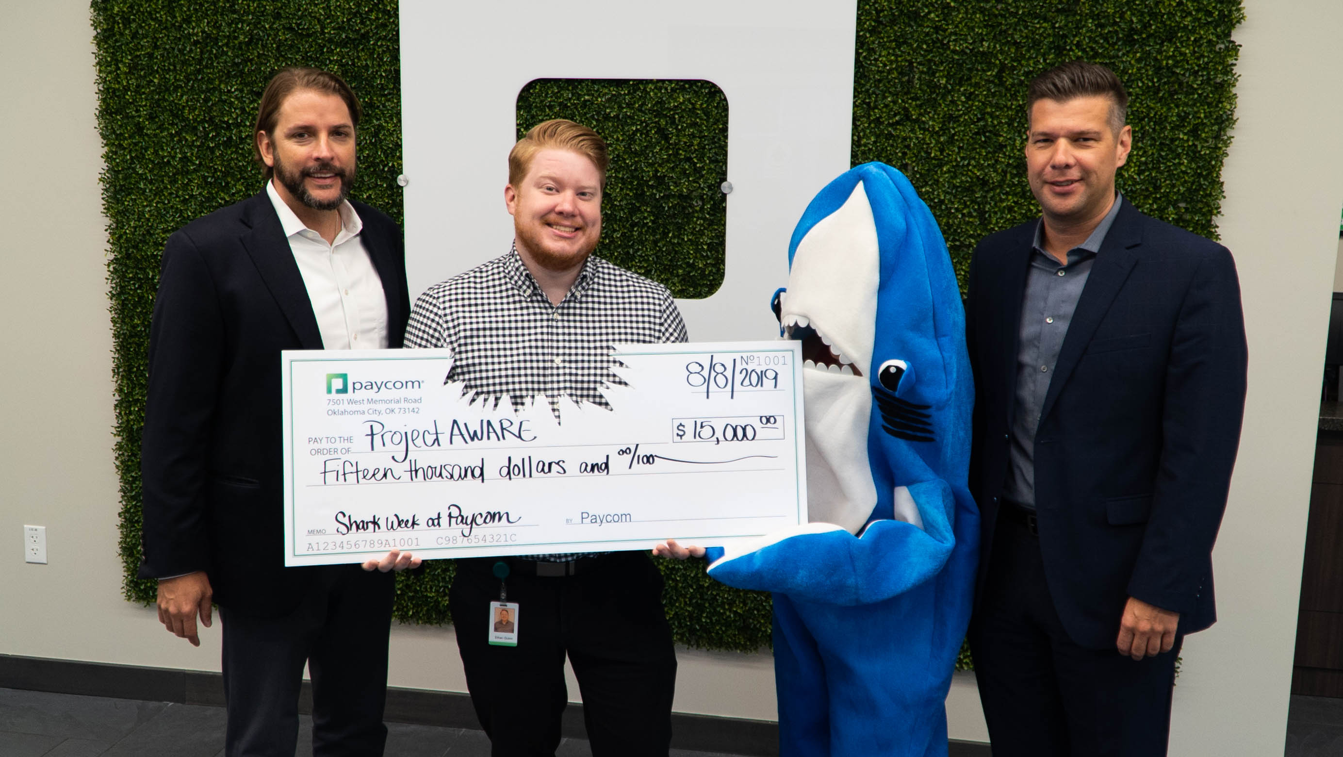 Paycom, Employees Raise Funds for Project AWARE's Ocean Conservation