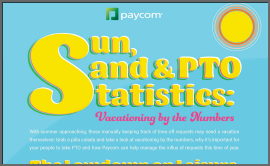 Sun, Sand and PTO Requests: Vacationing by the Numbers