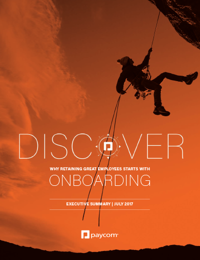 Discover Onboarding Executive Summary preview